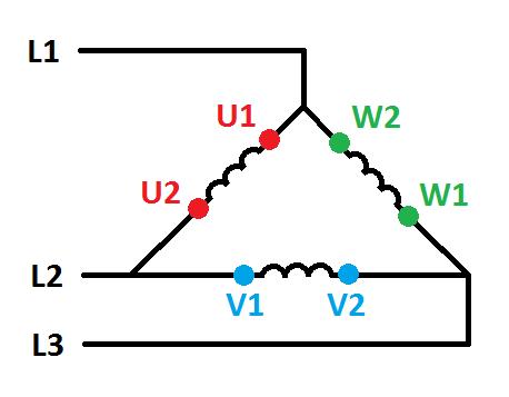 Antriebe: Stern-/ Dreieck-Schaltung