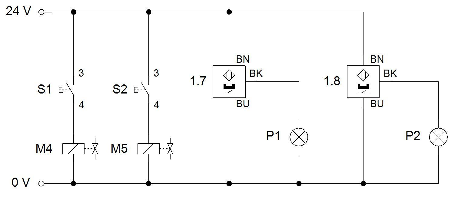 Elektrischer Plan